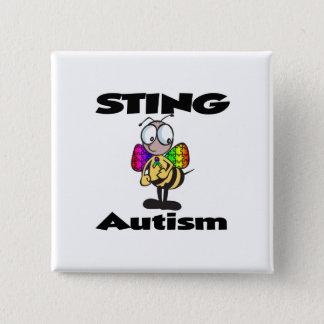 STING Autism Pinback Button