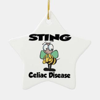 STING Celiac Disease Christmas Tree Ornament