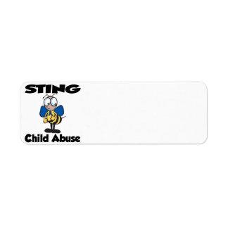 STING Child Abuse Label