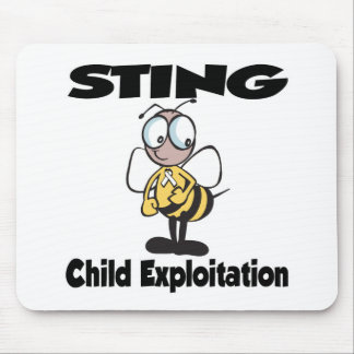 STING Child Exploitation Mouse Pad