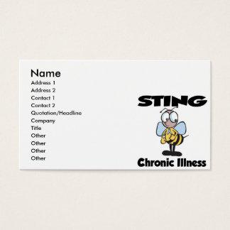 STING Chronic Illness Business Card