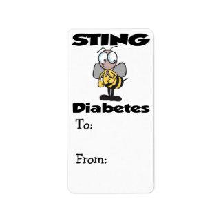 STING Diabetes Label