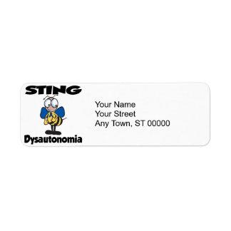 STING Dysautonomia Label