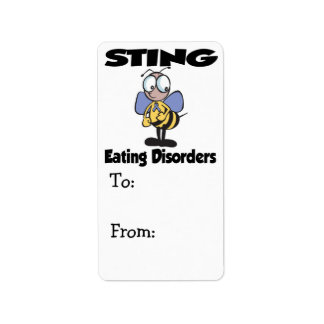 STING Eating Disorders Label