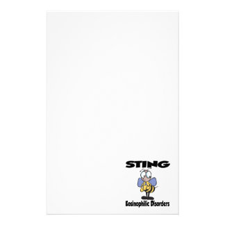 STING Eosinophilic Disorders Stationery