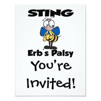 STING Erbs Palsy Personalized Announcement