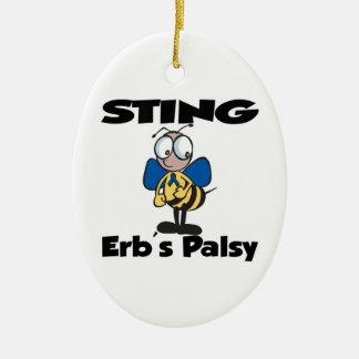 STING Erbs Palsy Christmas Ornament