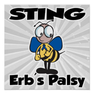 STING Erbs Palsy Poster