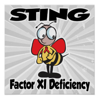 STING Factor XI Deficiency Poster