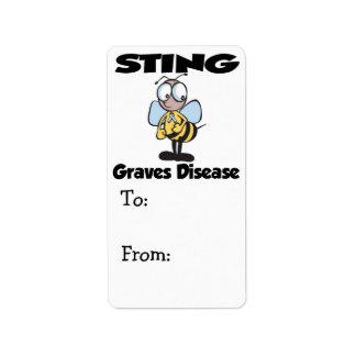 STING Graves Disease Label