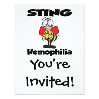 STING Hemophilia Card