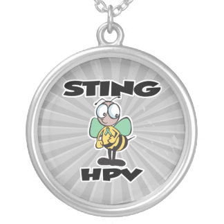 STING HPV ROUND PENDANT NECKLACE