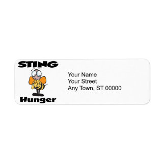 STING Hunger Label