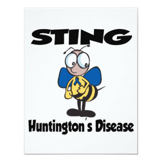 STING Huntingtons Disease Card