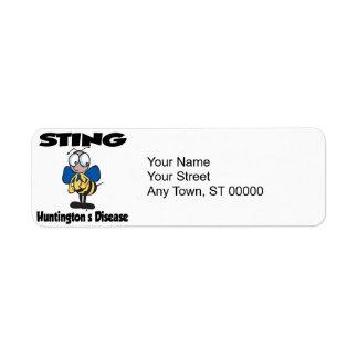 STING Huntingtons Disease Label