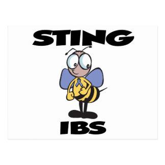 STING IBS POSTCARD
