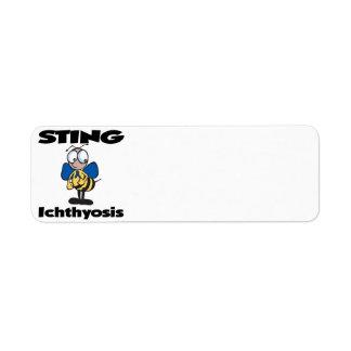 STING Ichthyosis Custom Return Address Labels