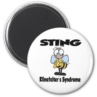 STING Klinefelters Syndrome 2 Inch Round Magnet