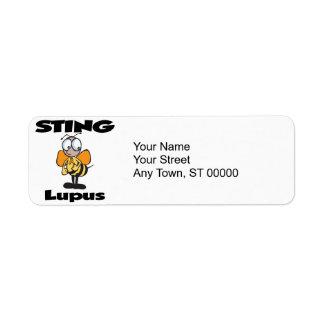 STING Lupus (orange) Label