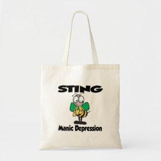 STING Manic Depression Budget Tote Bag