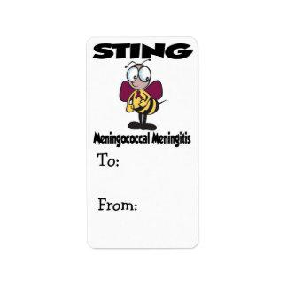 STING Meningococcal Meningitis Label