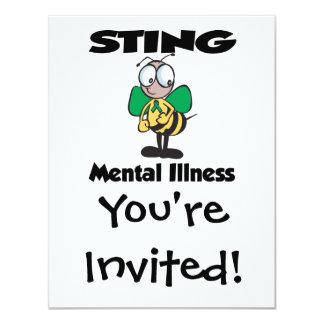STING Mental Illness (green) Card