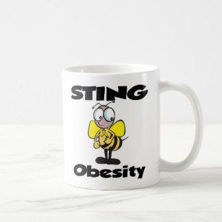 STING Obesity Classic White Coffee Mug