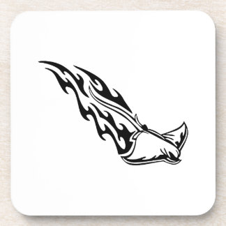 Sting Ray Flames Drink Coaster
