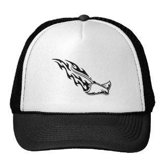 Sting Ray Flames Trucker Hat