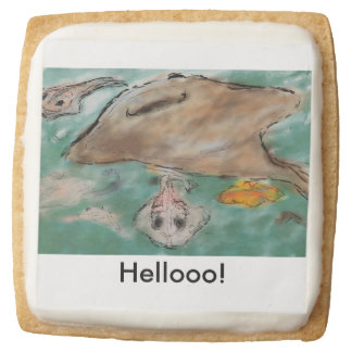 Sting Ray Greetings Cookie