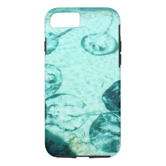Sting rays in Xcaret , Mexico iPhone 8/7 Case