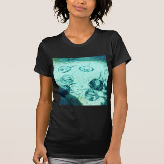 Sting rays in Xcaret - Mexico T-Shirt