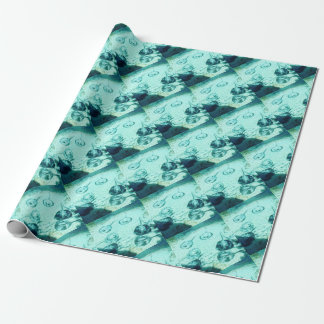 Sting rays in Xcaret - Mexico Wrapping Paper