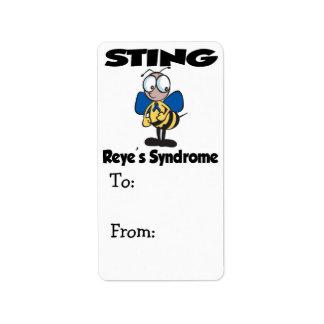 STING Reyes Syndrome Label