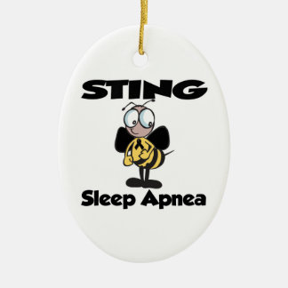 STING Sleep Apnea Ornaments
