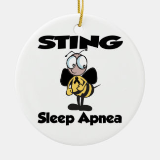 STING Sleep Apnea Christmas Tree Ornament