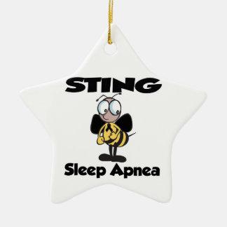 STING Sleep Apnea Christmas Ornaments