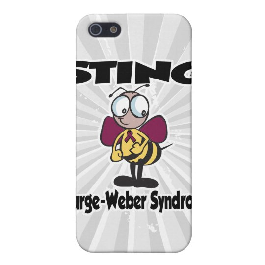 STING Sturge-Weber Syndrome iPhone SE/5/5s Cover