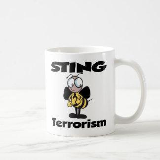 STING Terrorism Classic White Coffee Mug