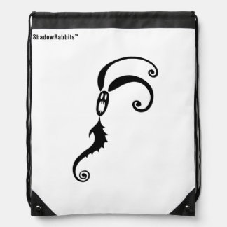 Sting the Shadow Rabbit Drawstring Bag