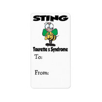 STING Tourettes Syndrome Label