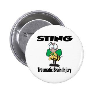 STING Traumatic Brain Injury Button