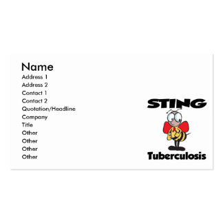 STING Tuberculosis Business Cards