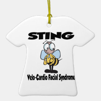 STING Velo-Cardio Facial Syndrome Ornaments