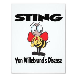 STING Von Willebrands Disease Invitaciones Personales