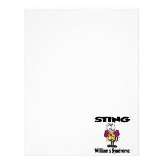STING William' síndrome de s Membrete A Diseño