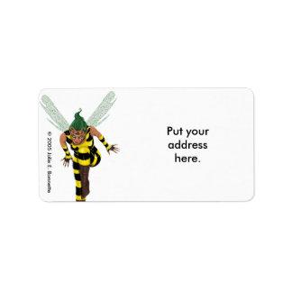 Stinger Custom Address Label