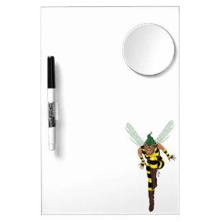 Stinger Mirror Dry Erase Board With Mirror