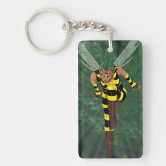 Stinger Rectangle Keychain