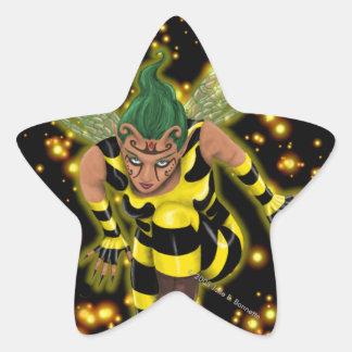 Stinger Star Star Sticker